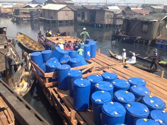 Escuela flotante Makoko