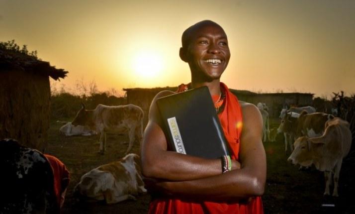 Está por ver si la televisión digital llegará con la misma intensidad y variedad a las zonas rurales. Fuente: All Africa.