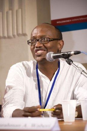 Abdourahman A. Waberi. Fuente: Wikimedia Commons - Paolo Montanaro