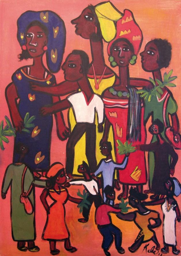 Reunión Familiar - Ibrahima Kébé