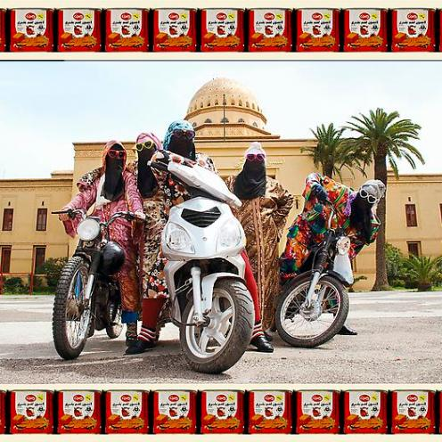 Hassan Hajjaj, Kesh Angels, 2010/1431, Edition of 7