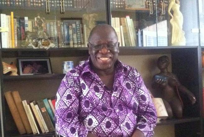 Isaïe Biton Koulibaly. Fuente: Facebook del autor