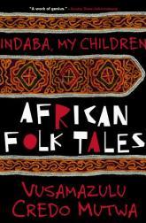 Portada de Indiba, My Children, el libro de Credo Mutwa en el que se basa el cómic