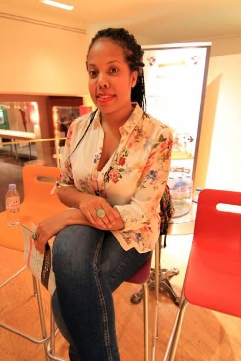 Nicole Amarteifio, la directora ghanesa y creadora de la serie de moda en África. Foto: Sebastián Ruiz