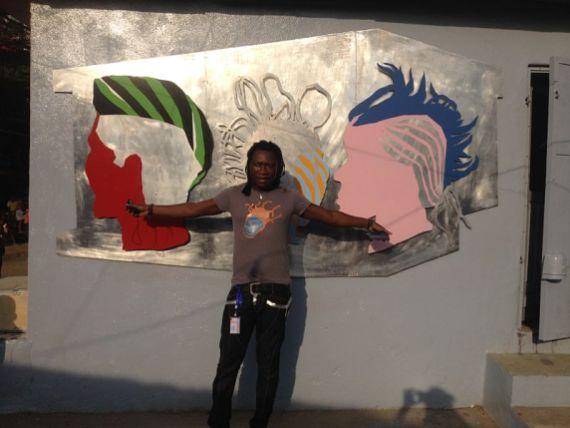 Têtes de rêve. Salon Urbain de Douala 2013