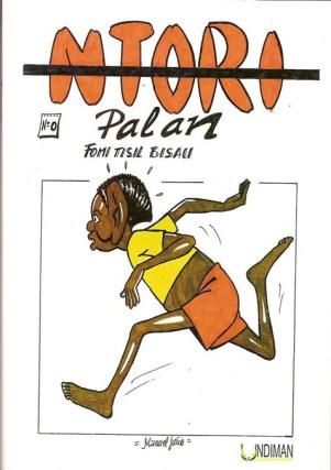 Portada de uno de los álbumes de Ntori Palan