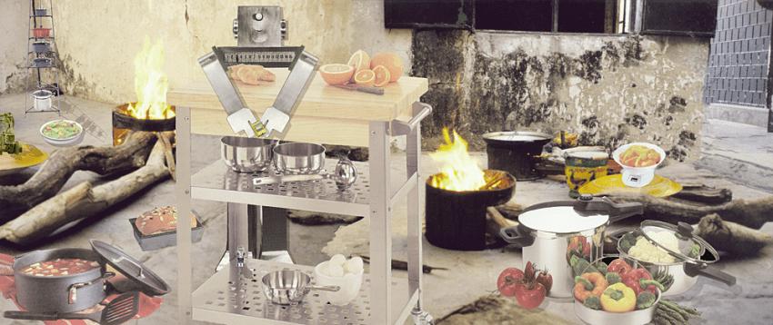Robo Makes Dinner, 2000