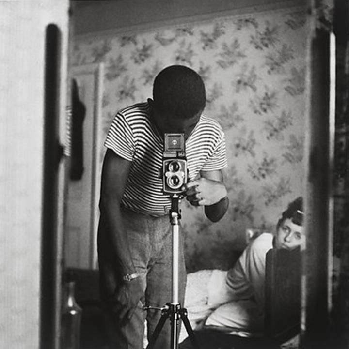Armet Francis - autoretrato, Londres 1964.