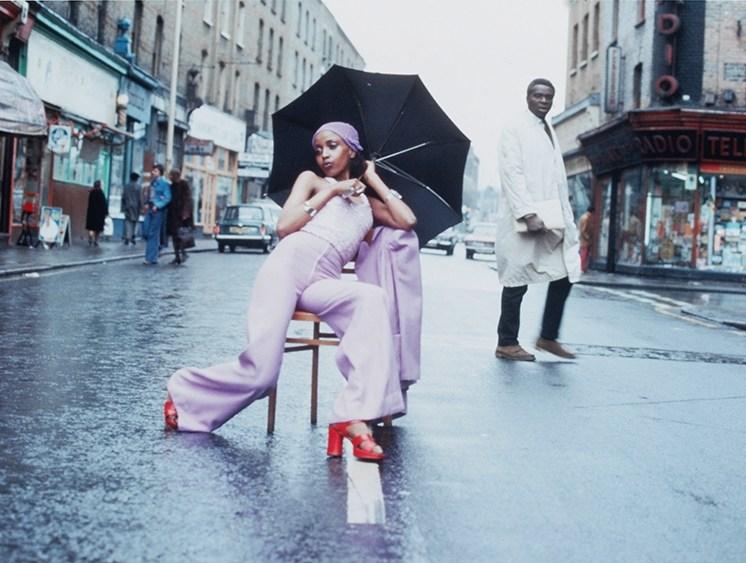 Armet Francis - Fashion Shoot - Brixton, Londres 1973.