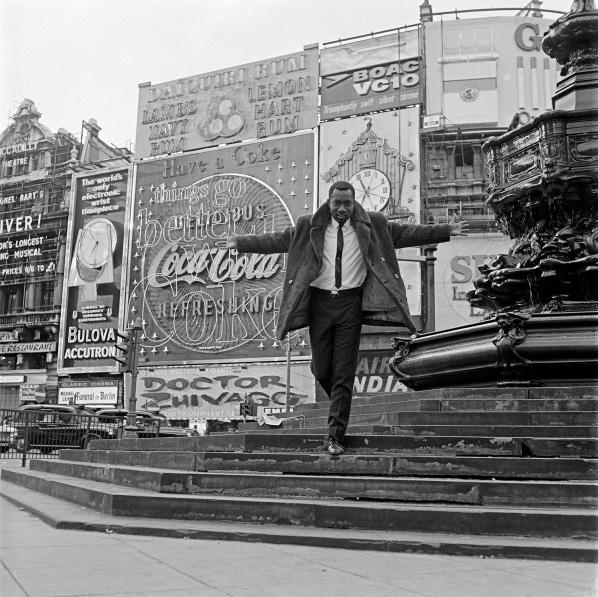 James Barnor - Mike Eghan, Picadilly Circus,1967.