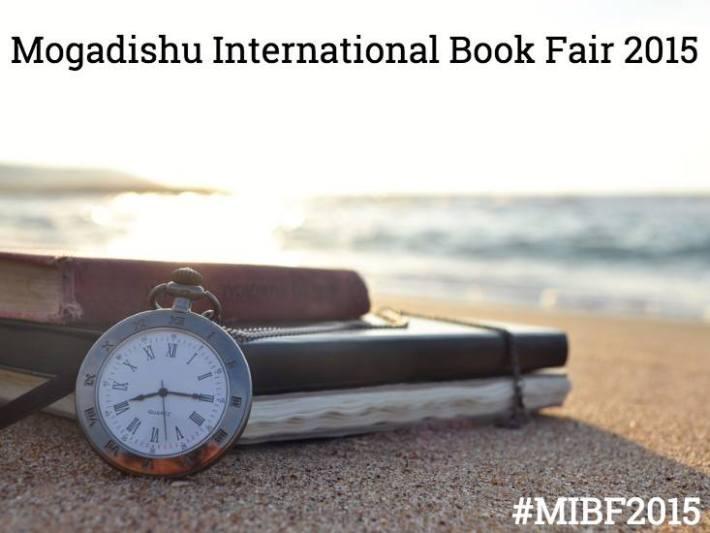 Imagen promocional de la Feria Internacional del Libro de Mogadiscio. Fuente: Facebbok del evento
