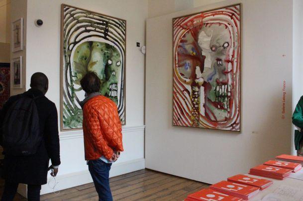 Barthélémy Toguo en Galerie Lelong