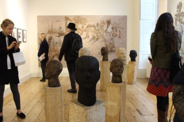Jems Robert Koko Bi en Galerie Cécile Fakhoury
