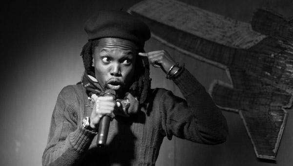 Thabiso, ganador de InZync Poetry Slam, Sudáfrica - SLIPNET.CO