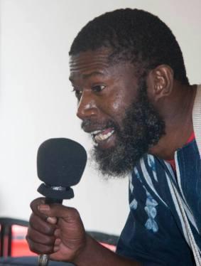 Una imagen de una actuación de Abdoulaye Bilal Traoré. Cedida por el autor