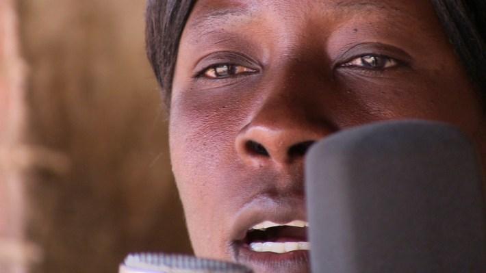 Una de las reclusas de la prisión de máxima seguridad de Zomba, en Malaui. Dentro del proyecto nominado a un Grammy en la reciente edición.