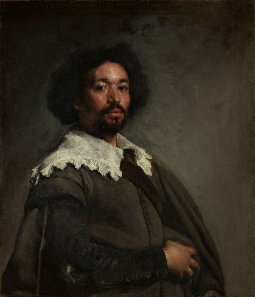Retrato de Juan de Pareja realizado por Diego Velázquez en 1650
