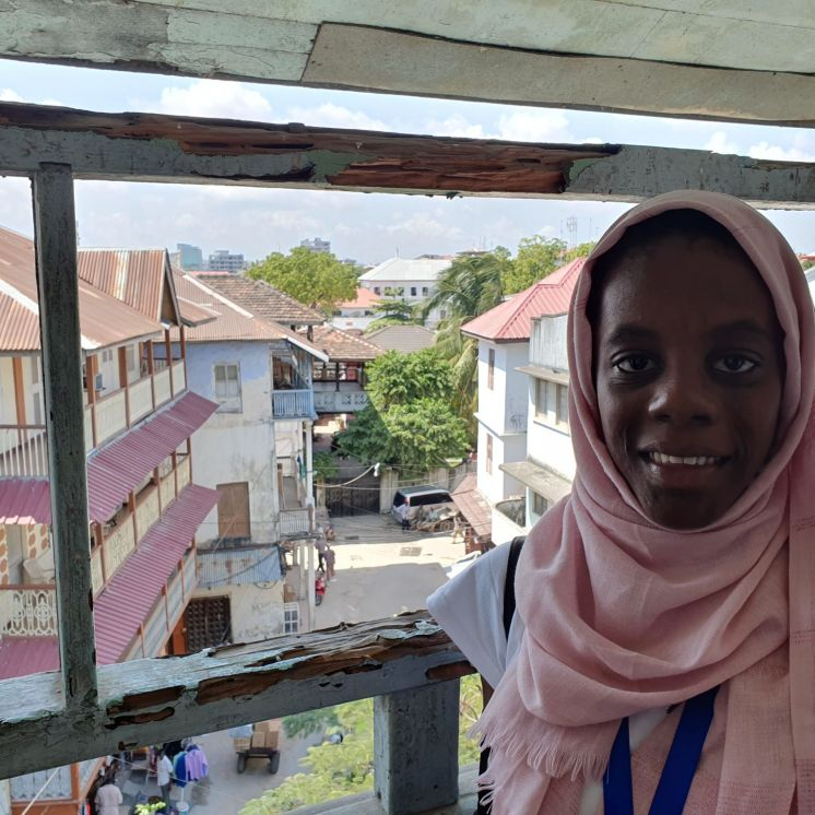 Ahlam Hassan, alumna del centro