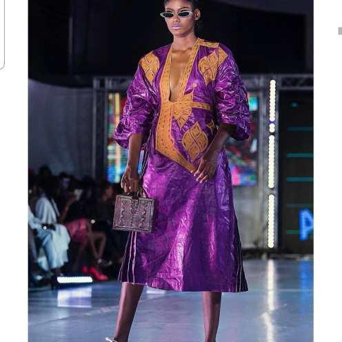 Desfile de la Dakar Fashion Week en 2019. Foto: Facebook oficial de la DFW.