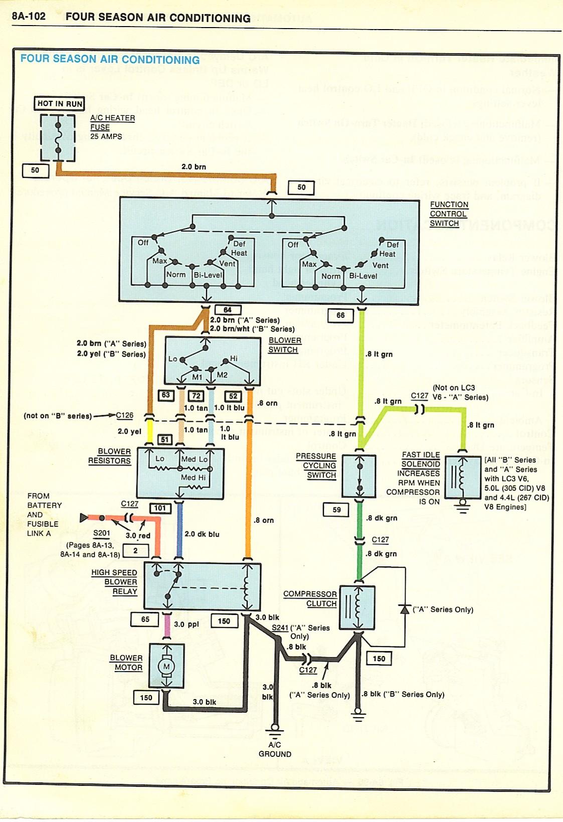 1970 Chevelle Wiring Diagram Air Cond Diy Enthusiasts Wiring Chevrolet Air  Conditioning 1970 Chevelle Air Conditioning Diagram