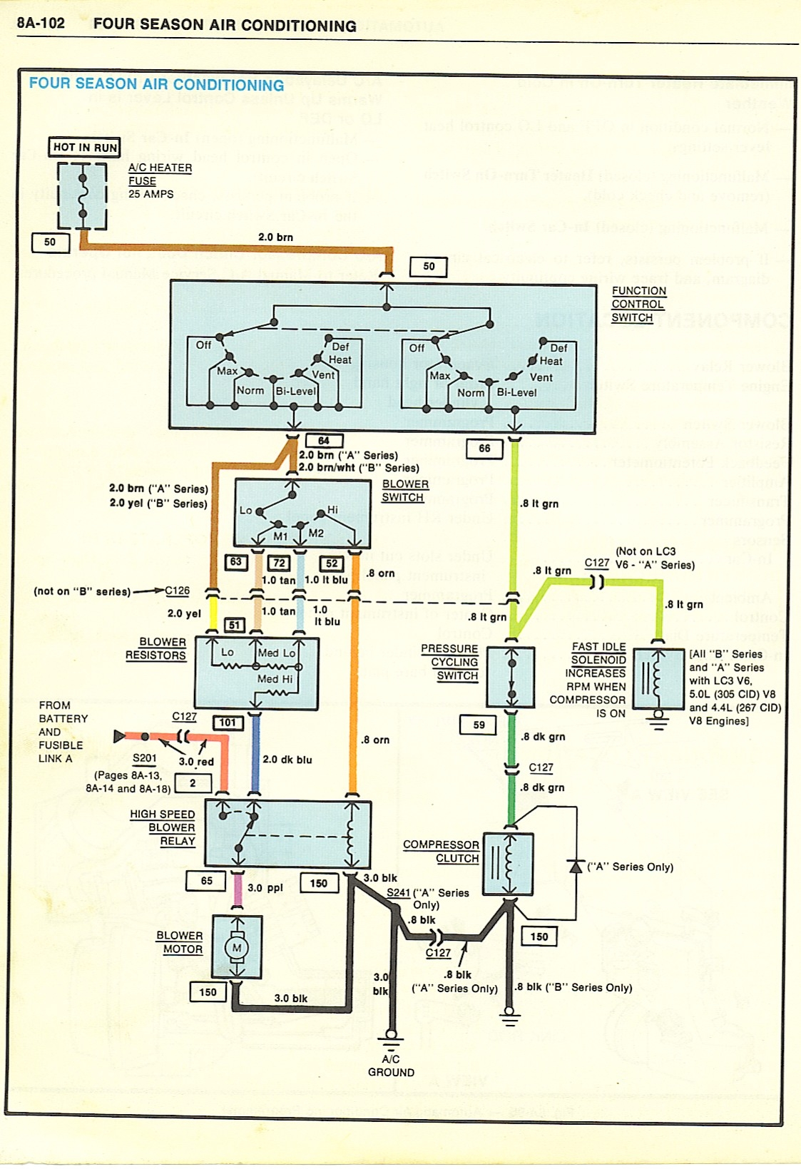 split system air conditioner wiring diagram headlights ac hvac schematic pdf library1968 camero a c drawing