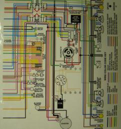 1970 71 corvette color wiring diagram 2 drawing b [ 960 x 1250 Pixel ]