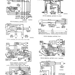 71 Chevelle Starter Wiring Diagram 1999 Ford Explorer Radio Chevy Diagrams C 57 64 Gm A Mix Of 2 Way 4 6