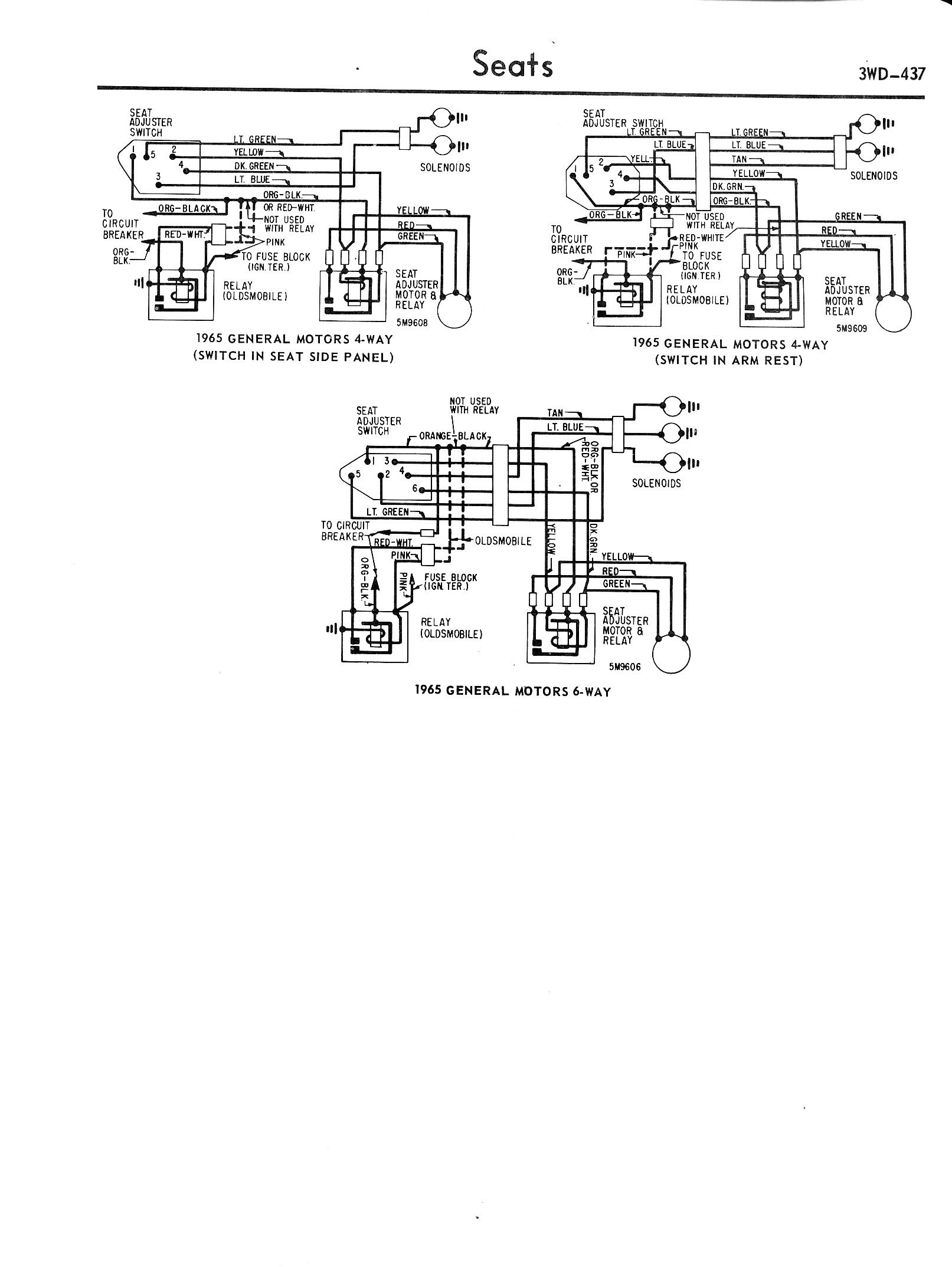 typical wiring gm