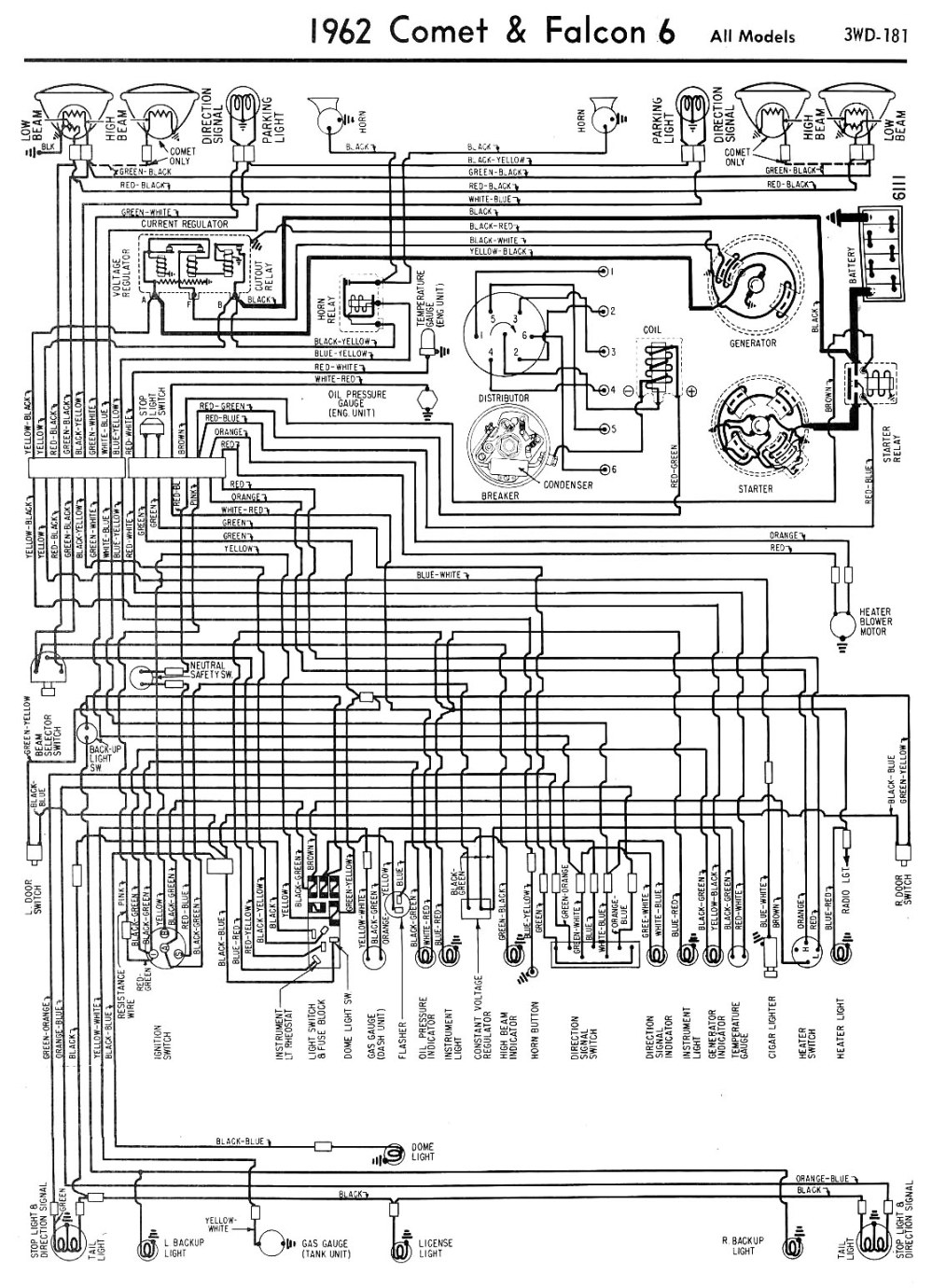 medium resolution of 62 falcon comet wiring falcon diagrams
