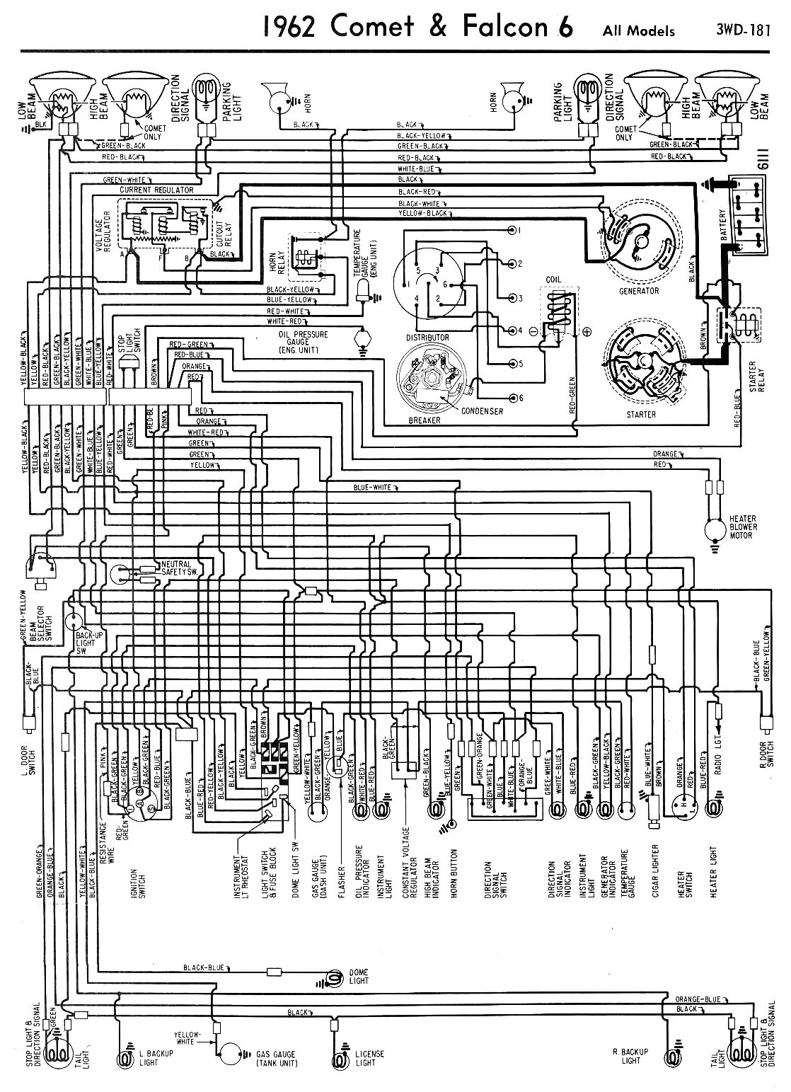 hight resolution of 62 falcon comet wiring falcon diagrams