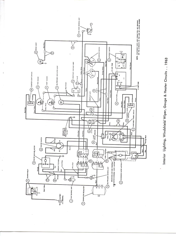 1961 ford econoline wiring diagram