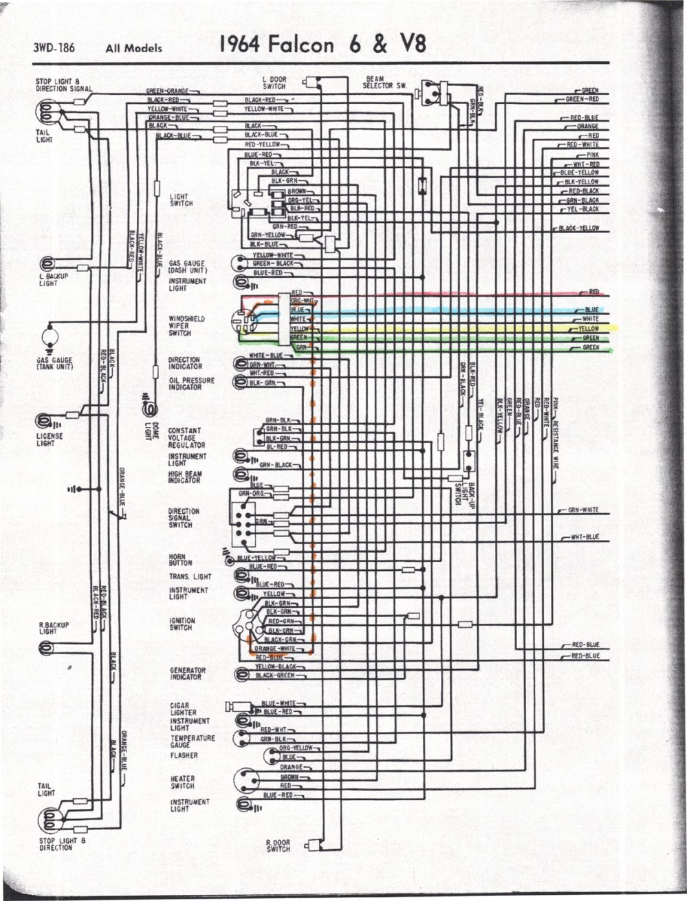 medium resolution of 64 falcon wiring diagram