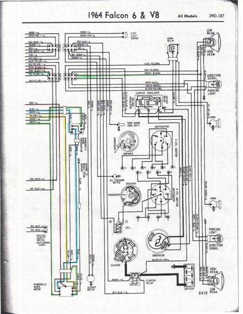 small resolution of 1966 ford falcon wiring wiring database library ford wiring schematic 1966 ford falcon wiring diagram