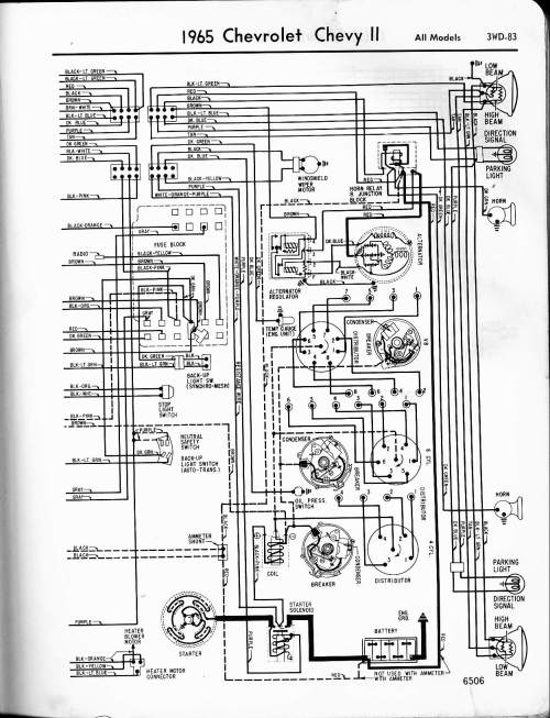 small resolution of 1965 chevy ii wiring diagram figure a figure b