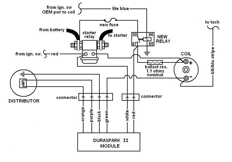 fine duraspark ii wiring diagram images electrical circuit Ford Duraspark Schematic  Ignition Module Diagram Ford O2 Sensor Wiring Diagram Duraspark Diagram 2 3