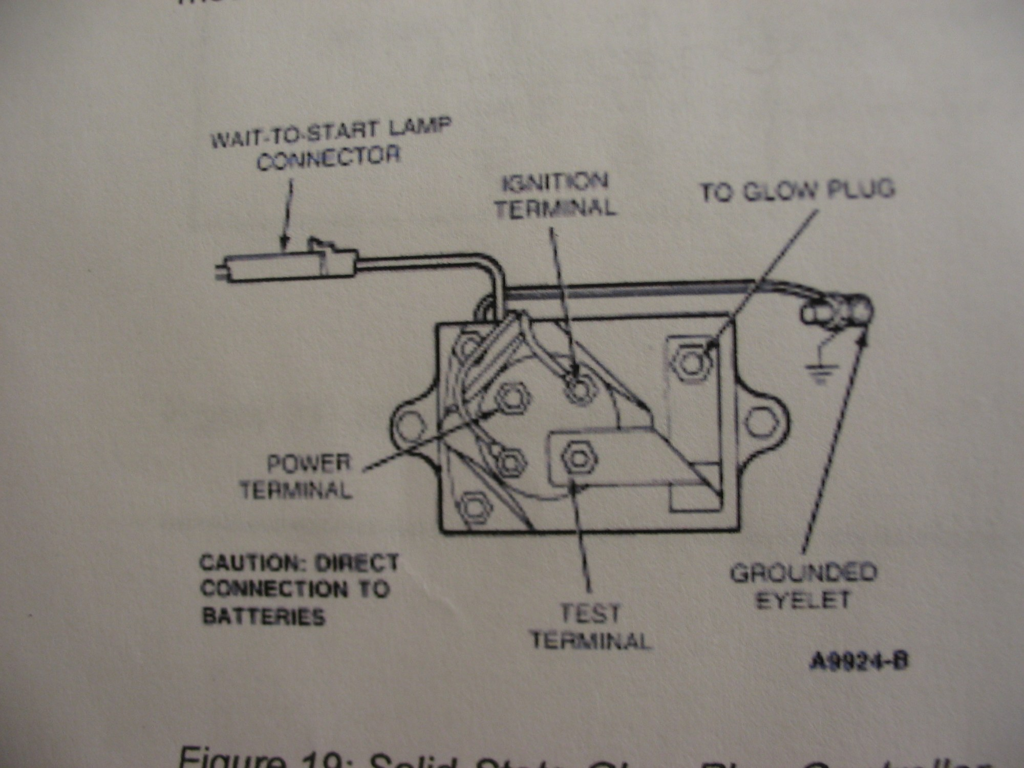 hight resolution of 91 ford glow plug relay