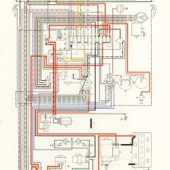 Vw 1600 Wiring Diagram 2001 Saturn Sl1 Engine 1970 Karmann Ghia 32