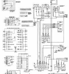 1984 cadillac deville instrument panel and accessories wiring diagram drawing a [ 2194 x 2931 Pixel ]