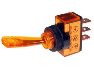 20 AMP @ 12 Volt SPST OnOff Toggle Switches