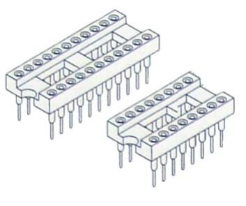 PCB DIP SOCKET MACHINED