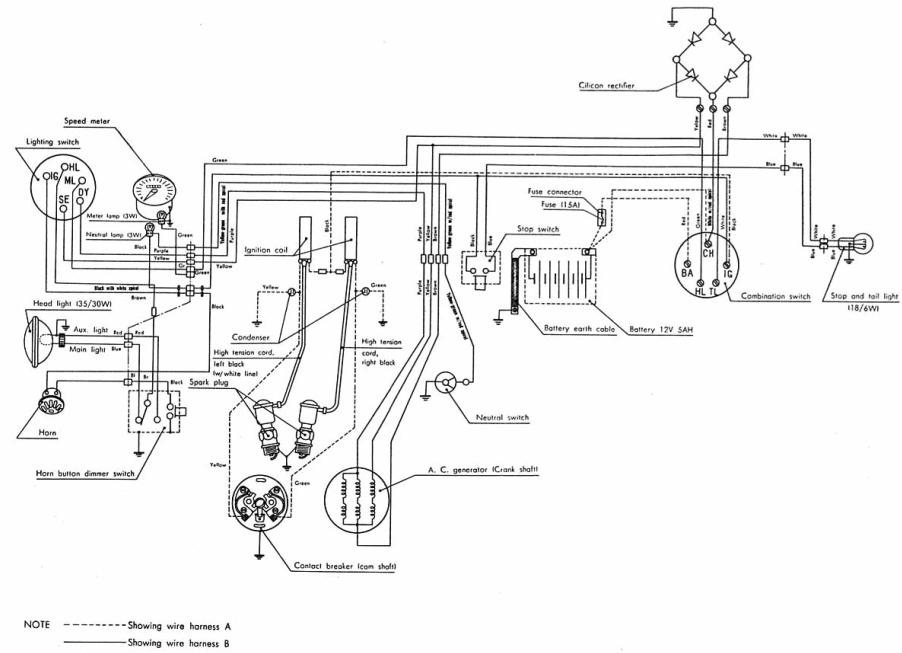 Cycle Electric Wiring Diagrams, Cycle, Free Engine Image