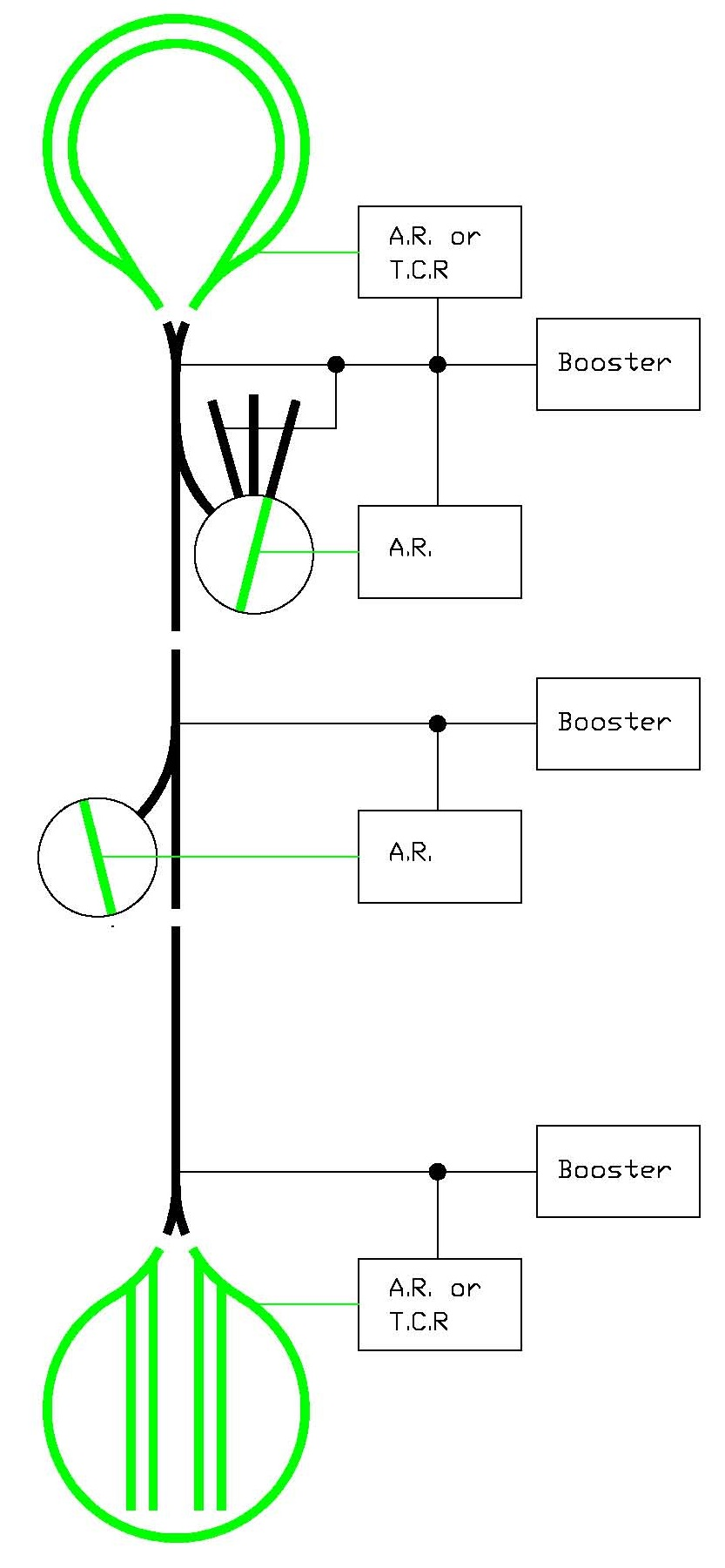 medium resolution of above is a simplified diagram of my layout