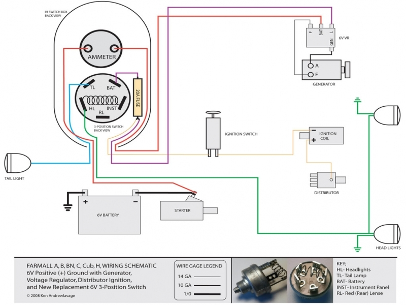 Farmall M Tractor Wiring Diagram - Wiring Forums