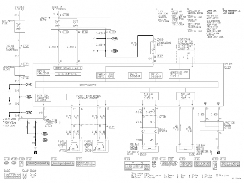 Wiring Diagram Mitsubishi Alternator