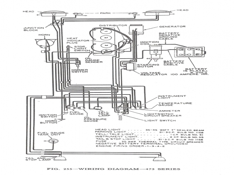 Willys Jeep Cj3A Wiring Diagram  Wiring Forums