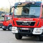 Nach Waldbrand bei Lübtheen: Zwei neue Spezialfahrzeuge an die Feuerwehr übergeben