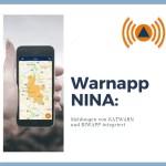 Warnapp NINA: Meldungen von KATWARN und BIWAPP integriert