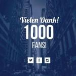 1000 Fans auf Facebook