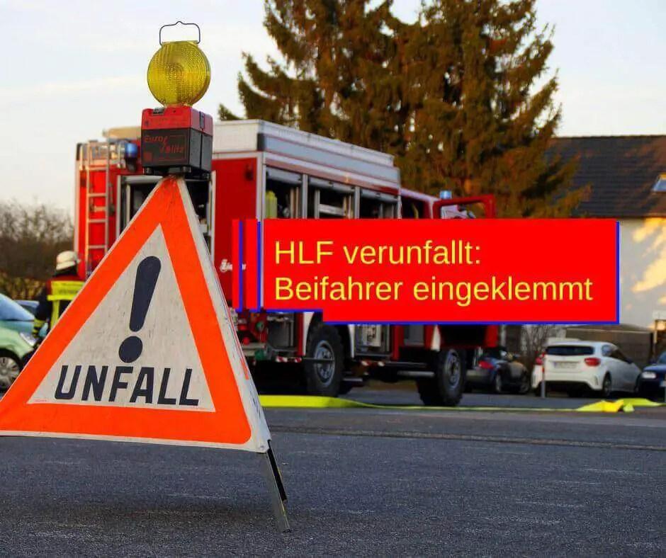 Beispielbild für ein verunfalltes Feuerwehrfahrzeug