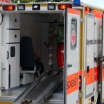 Radmuttern an Rettungswagen gelöst